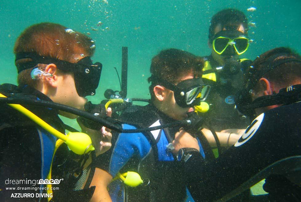 Scuba Diving in Athens Greece. Dive School Athens.