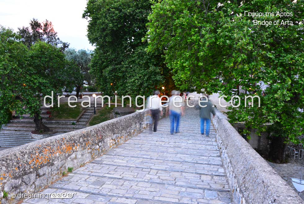 Arta Bridge. Epirus Holidays in Greece