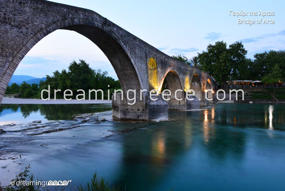Arta Bridge. Epirus Discover Greece