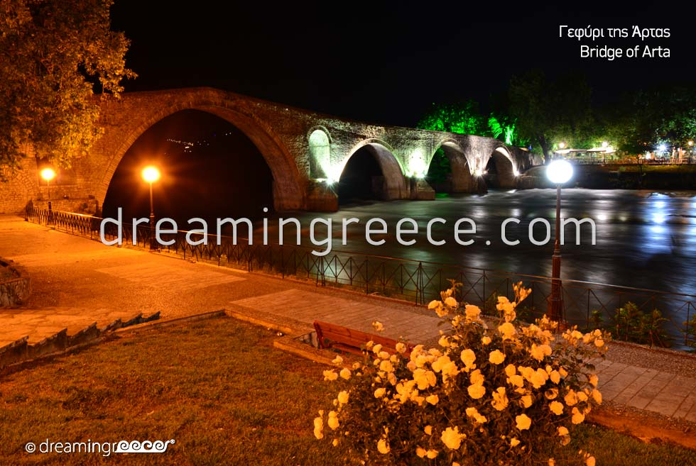 Winter Holidays in Arta Bridge Greece