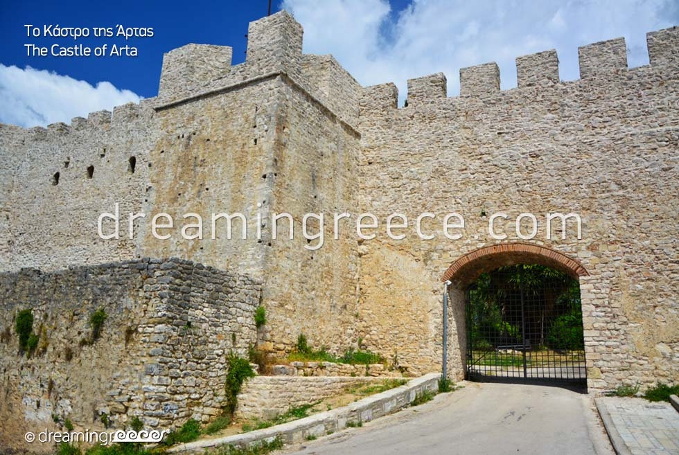 Castle of Arta Epirus Greece