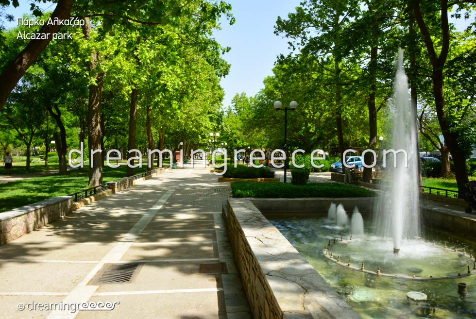 Discover Alcazar Park in Larissa Greece