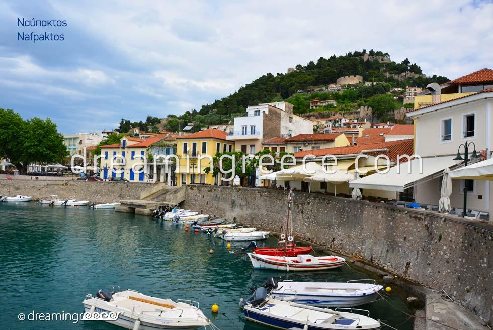 Explore Nafpaktos in Greece