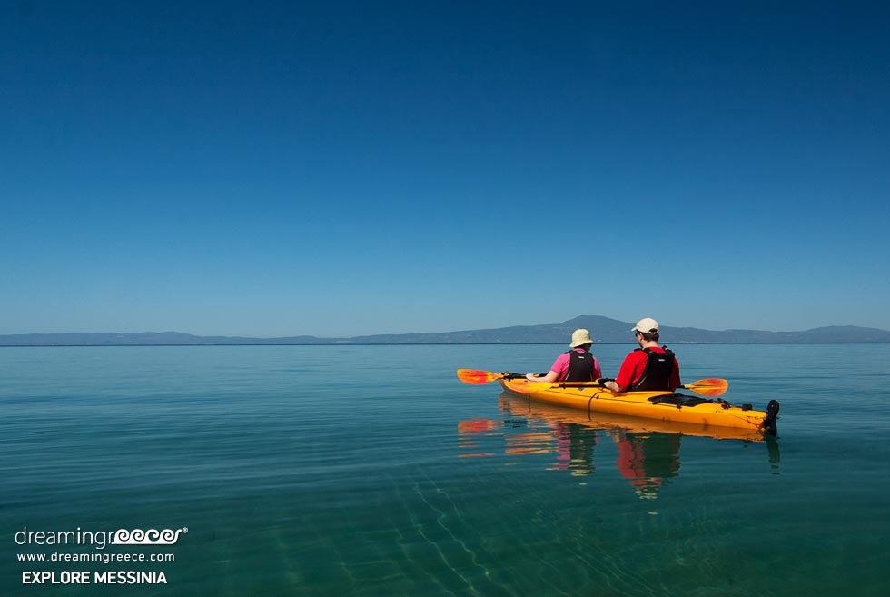 Explore Messinia Sea Kayaking Greece. Travel Guide of Greece.