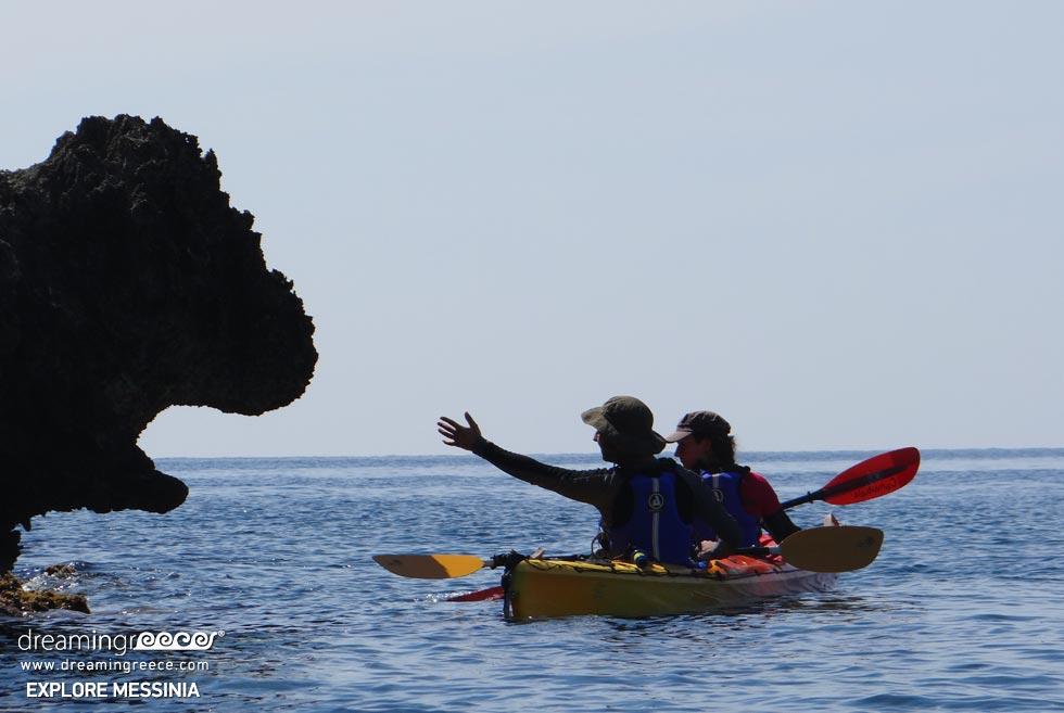 Explore Messinia Sea Kayaking Greece