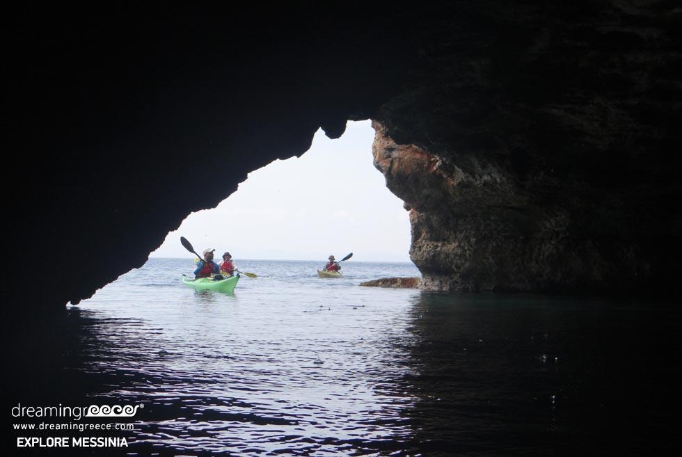 Explore Messinia Sea Kayaking Greece. Visit Greece.