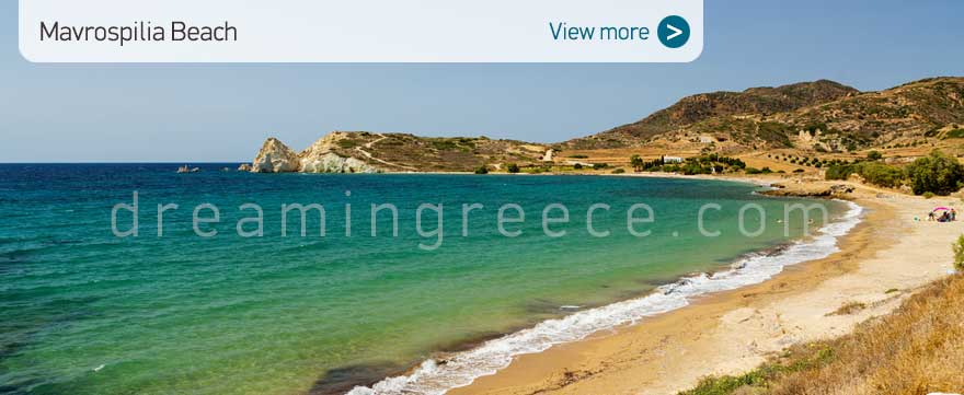 Mavrospilia Beach Kimolos Beaches Greece