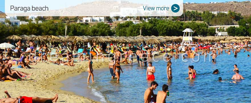 Paraga beach Mykonos Beaches Greece