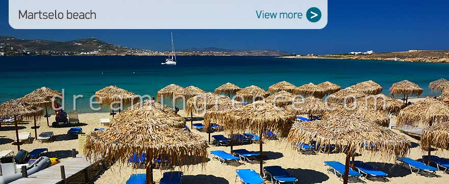 Martselo beach Paros Beaches Greece. Greek island vacations.