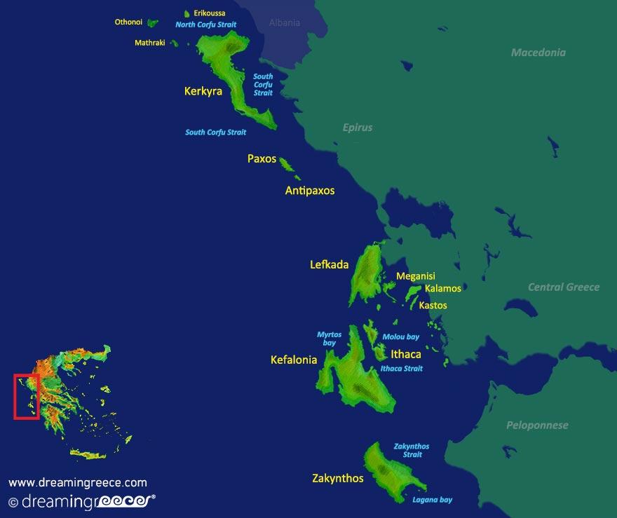 Ionian Islands Dreamingreececom