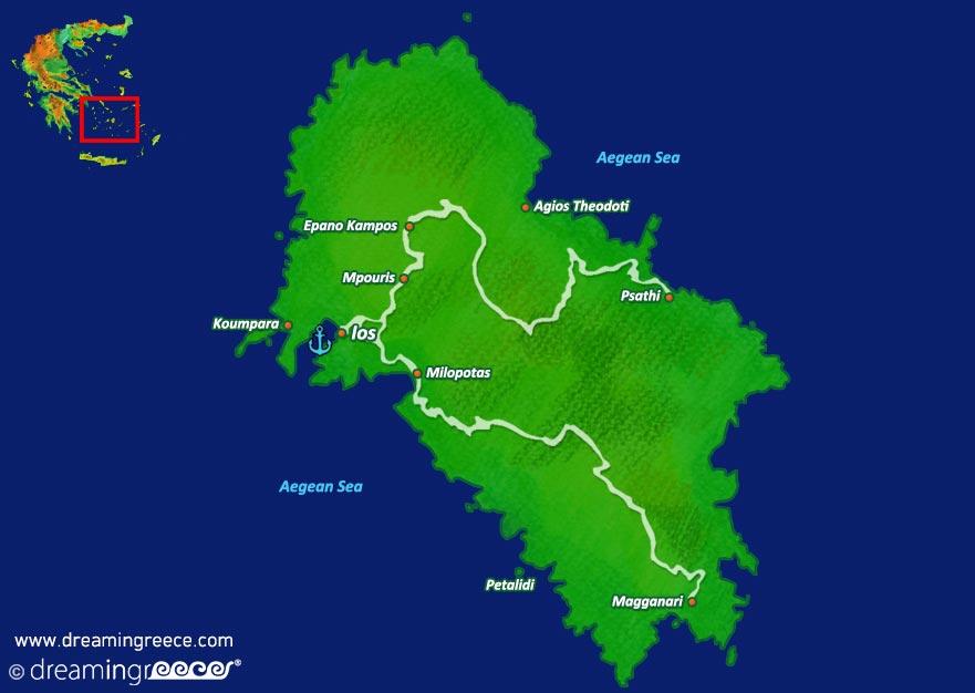 Holidays in Ios island Greece Greek islands DreamInGreece
