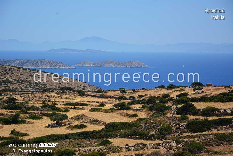 Visit Iraklia island Small Cyclades Greece