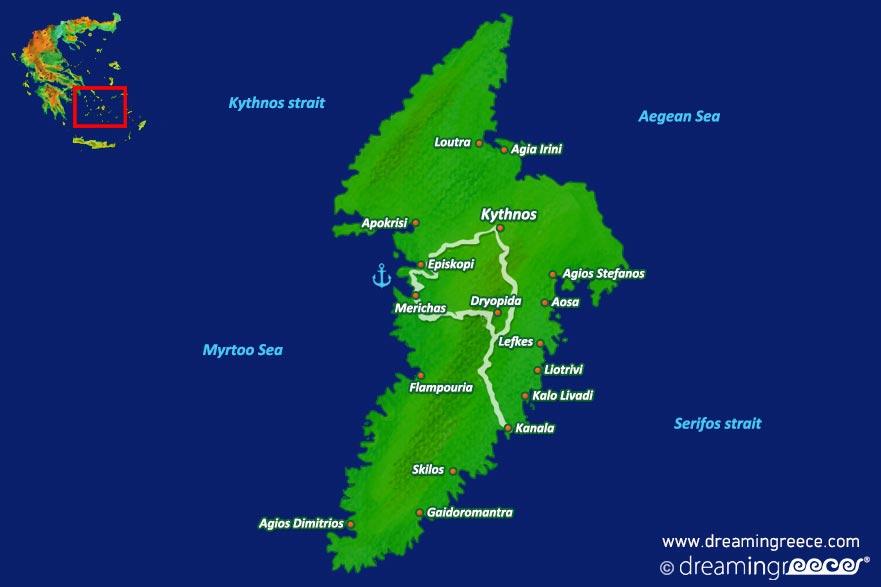 Holidays in Kythnos island Greece Greek islands DreamInGreece