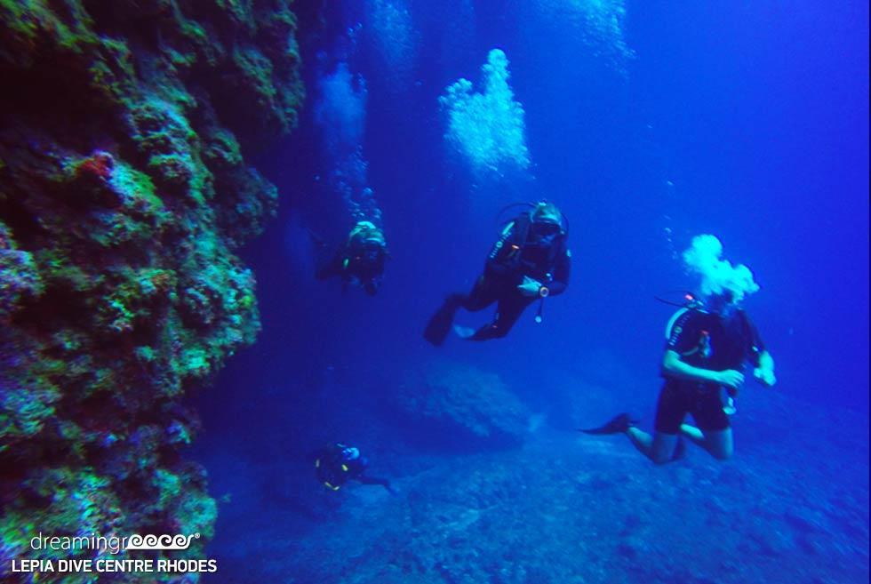 Lepia Dive Centre. Lindos Rhodes Greece