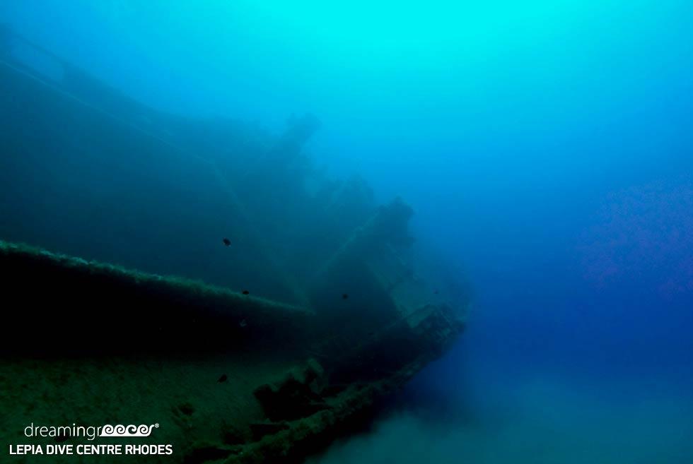 Scuba diving Rhodes island