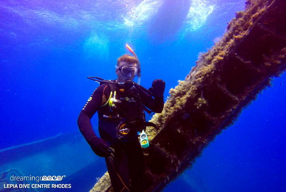 Lepia Dive Centre Rhodes, Scuba diving in Rhodes Greece