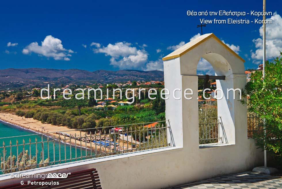 Eleistria Koroni Messinia Peloponnese Tourist Guide Greece
