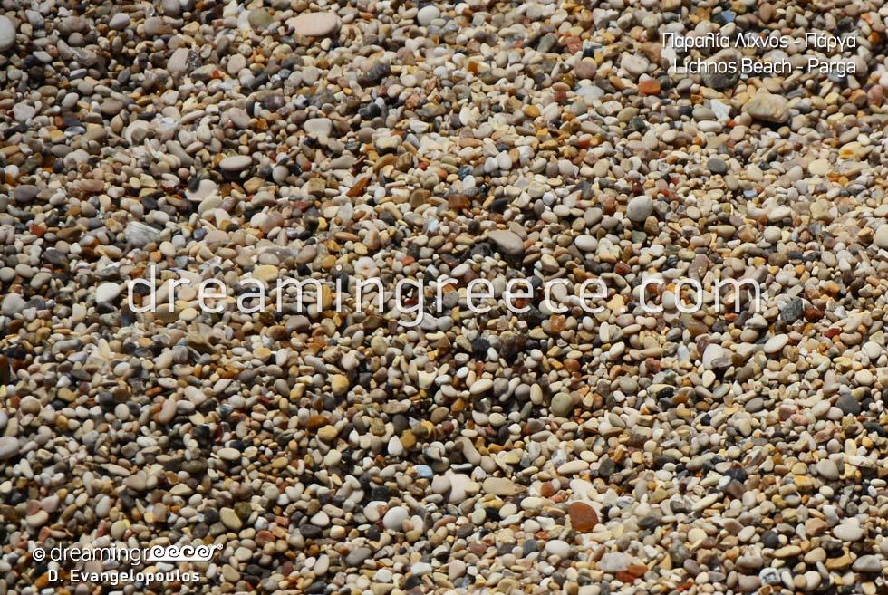 Lichnos beach Sand Sivota Parga