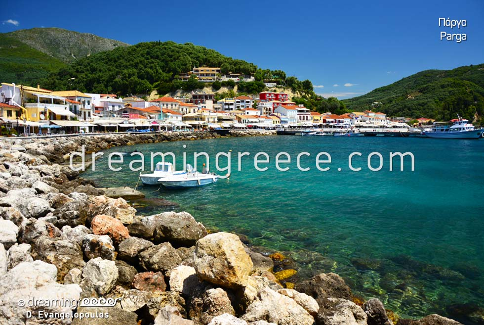 Parga Epirus. Summer Holidays in Greece