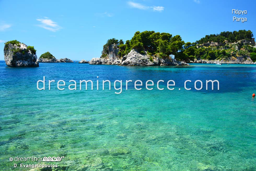 Parga Preveza Epirus Greece Crystal Clear Waters