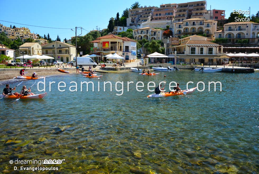 Travel guide of Sivota Syvota Thresprotia Epirus Greece