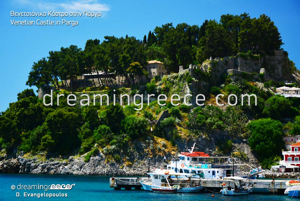 Parga Venetian Castle Epirus Greece