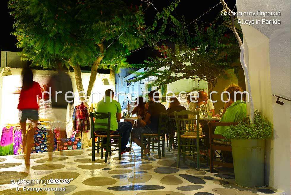 Parikia Paros. Travel guide of Greece