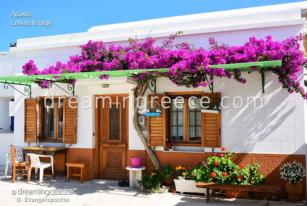 Lefkes Village in Paros.Visit Greece