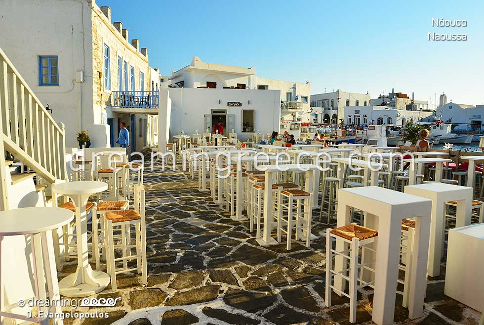 Naoussa Paros island. Summer Holidays in Greece