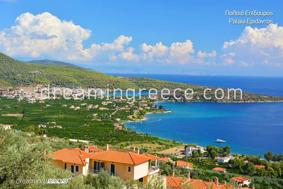 Vacations in Palaia Epidavros Argolida Peloponnese Greece