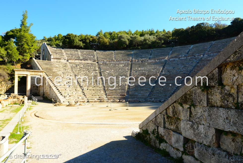 Ancient Theater of Epidavros Peloponnese Discover Greece