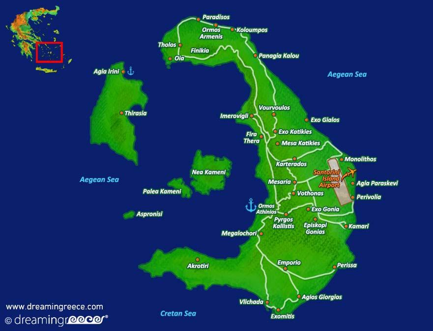 Holidays in Santorini island Greece Greek islands DreamInGreece
