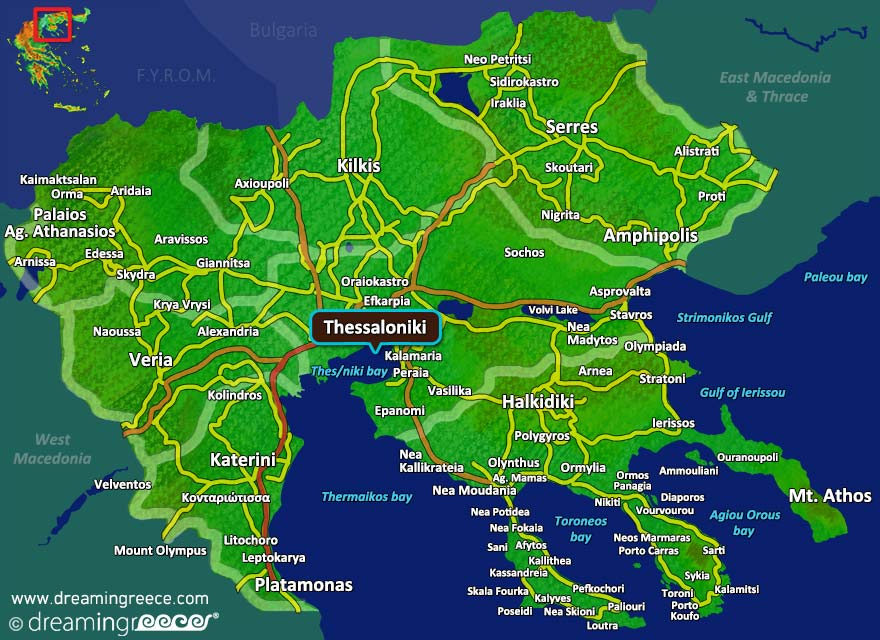 Holidays in Thessaloniki Greece Hotels Sightseeing