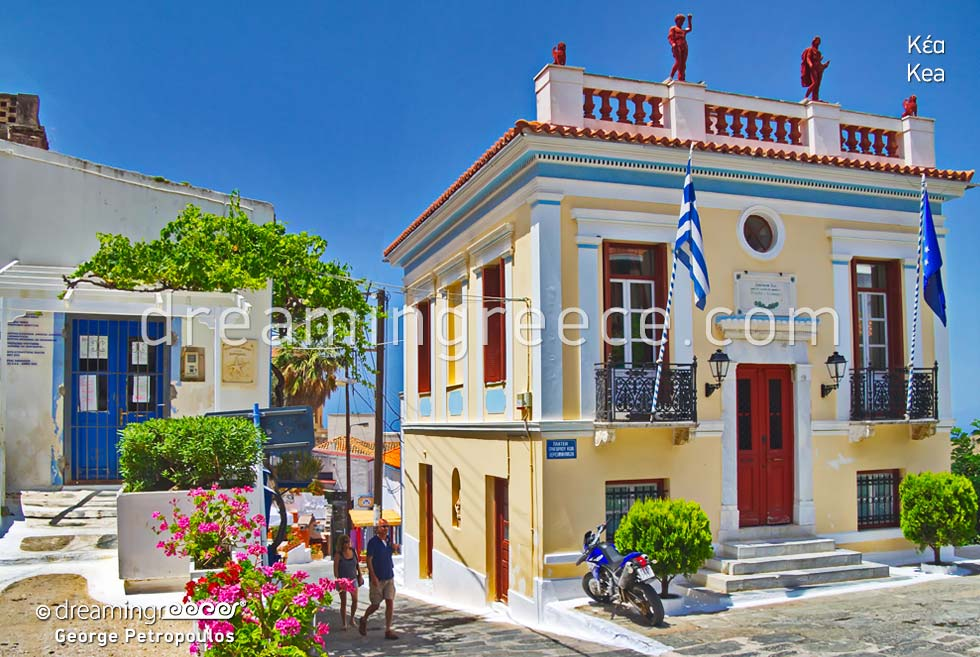 Travel Guide of Kea Tzia island Cyclades Greece
