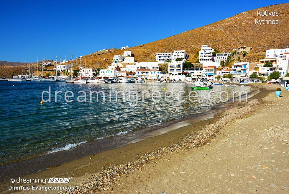 Guide of Kythnos island Cyclades islands Greece