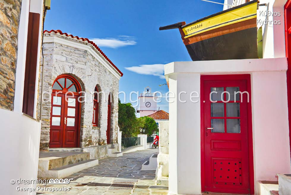 Kythnos island Cyclades islands. Visit Greece