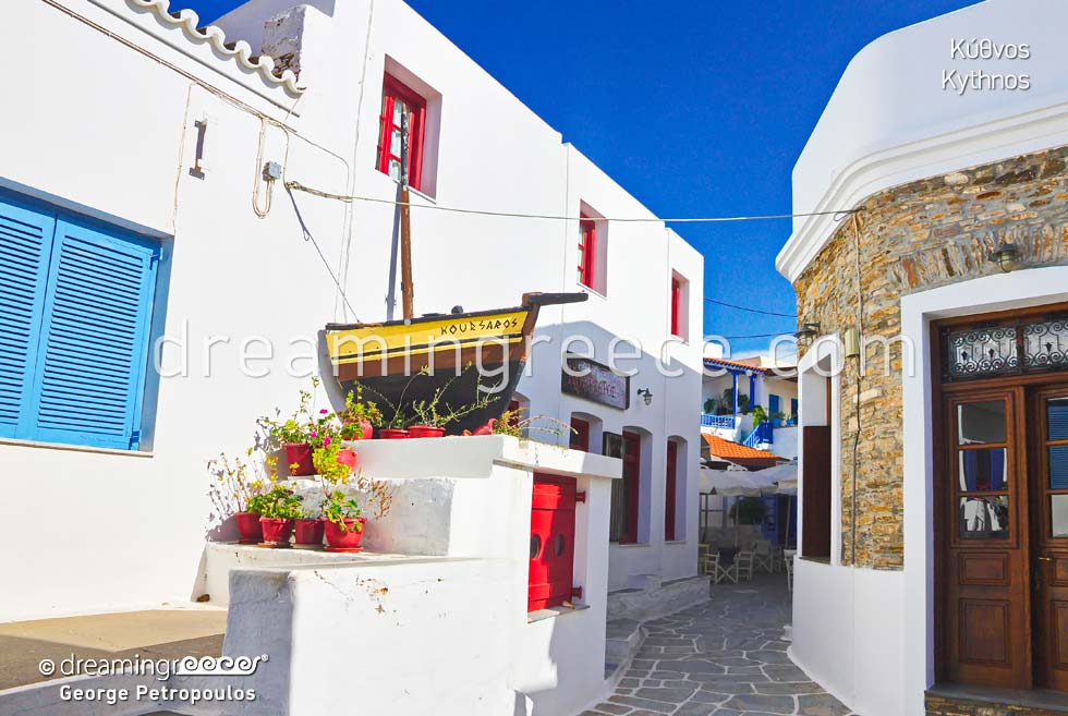 Summer Vacations in Kythnos island Cyclades islands Greece