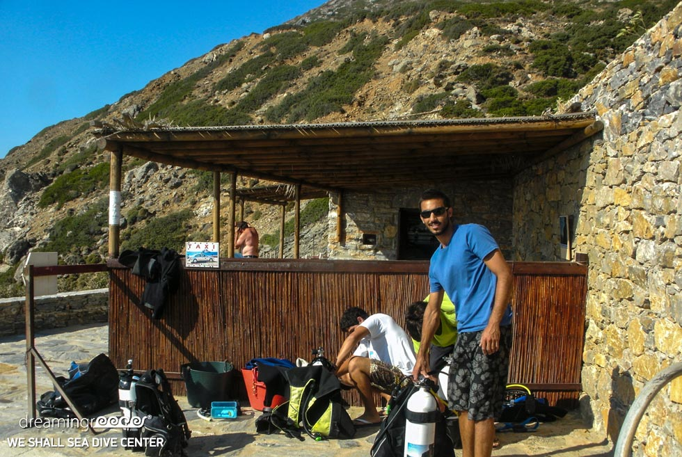 Scuba Diving in Amorgos island. We Shall Sea Dive Center