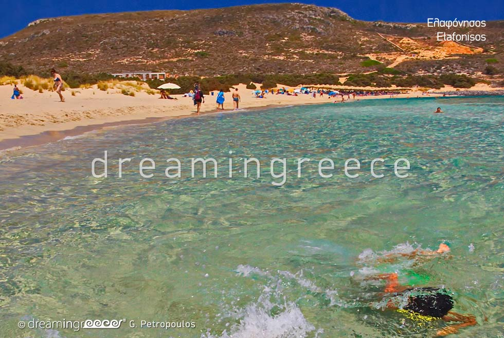 Elafonisos island Laconia Peloponnese. Holidays in Greece
