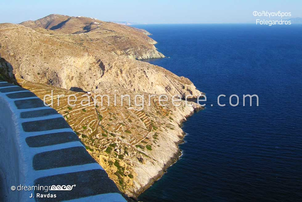 Travel Guide of Folegandros island Greece