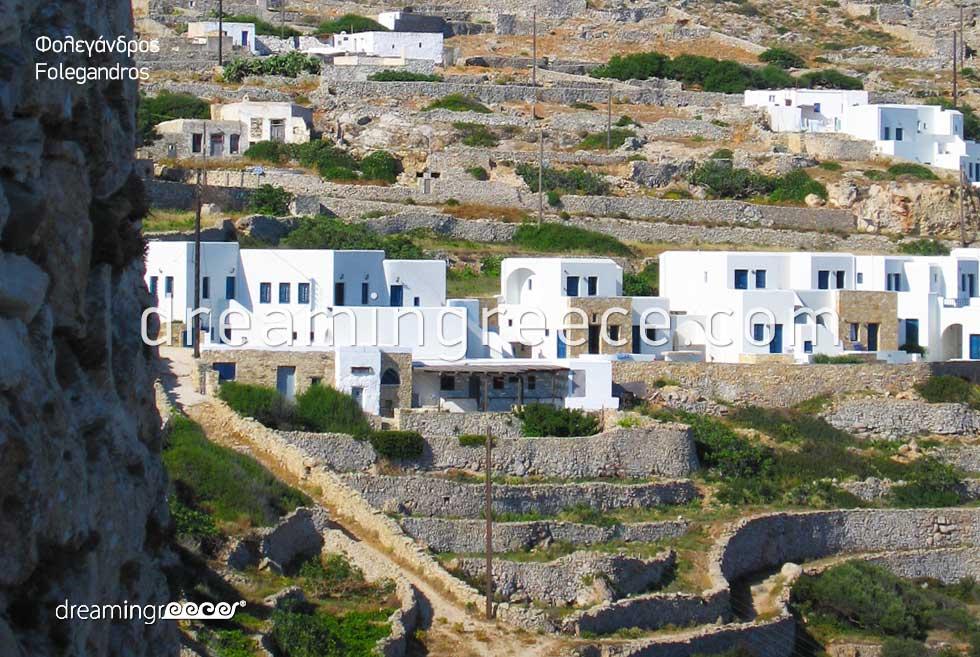 Explore Chora Folegandros Greece