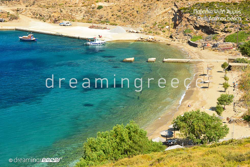 Psili Ammos beach Fournoi of Ikaria island Beaches in Greece
