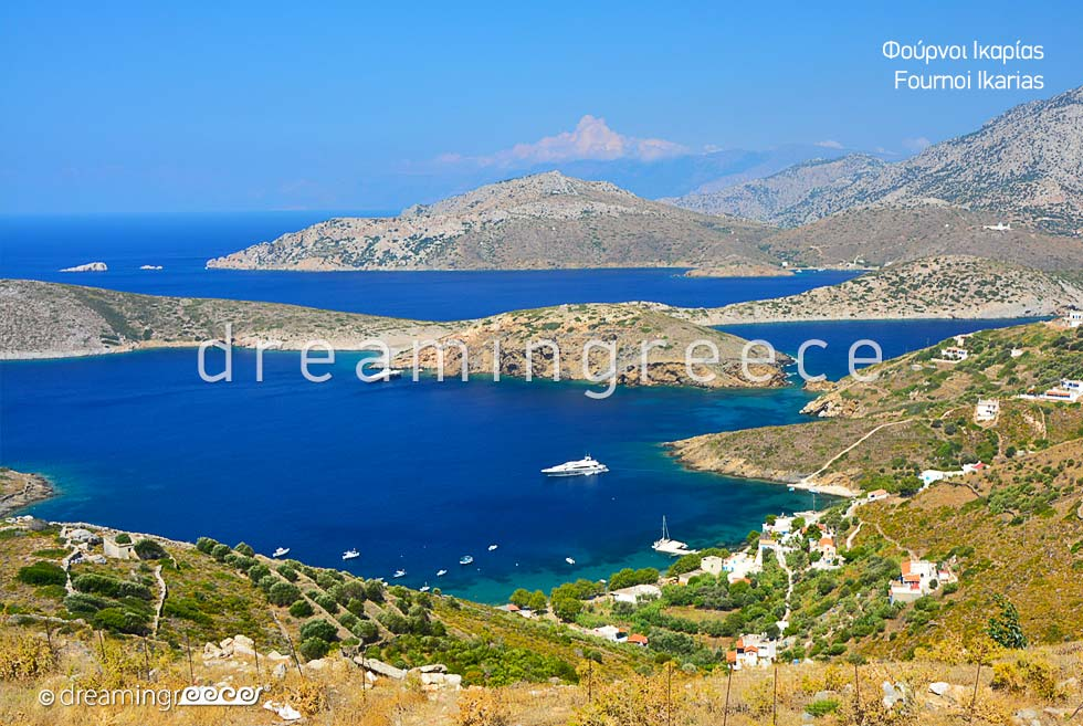 Travel Guide of Fournoi of Ikaria island Northeastern Aegean Islands Greece