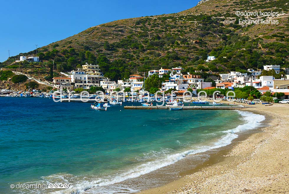 Vacations in Fournoi of Ikaria island Northeastern Aegean Islands Greece