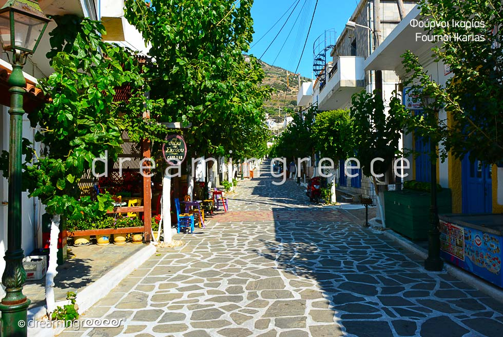 Travel Guide Fournoi of Ikaria island Northeastern Aegean Islands Greece