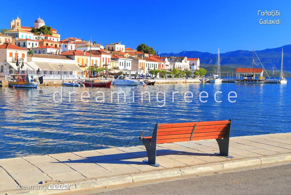 Explore Galaxidi. Travel Guide of Greece