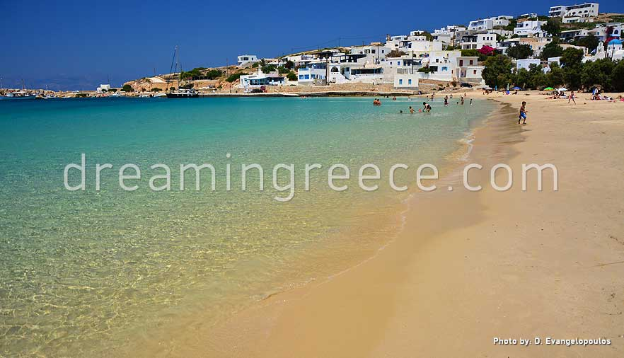 Stavros beach Donousa beaches Greece. Vacations in Greece.