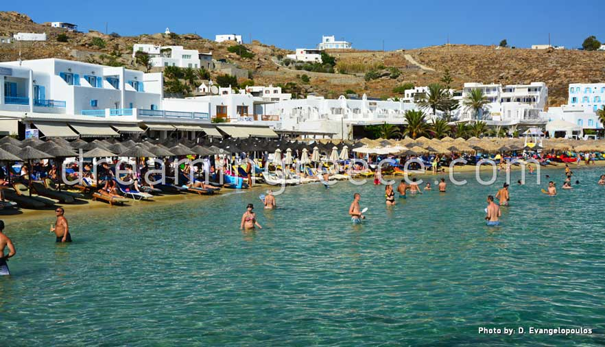 Platis Gialos Beach Mykonos Island Vacations In Greece