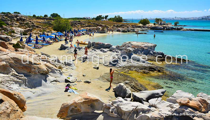 Kolymbithres Beach Paros Beaches Greece Holidays In Island