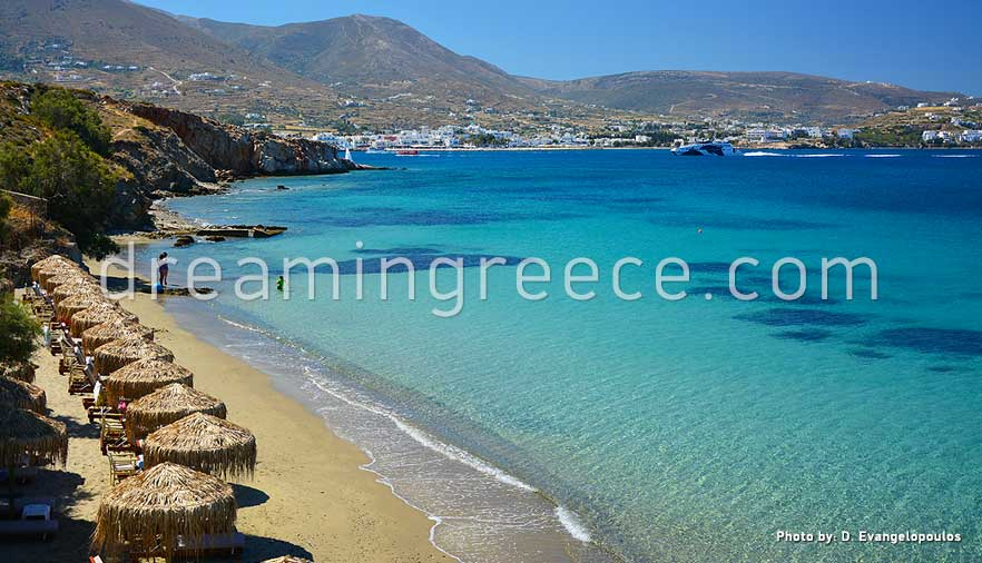 Krios Beach Paros Beaches Greece Travel Guide Of Island
